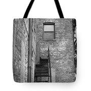 Iron Steps Tote Bag