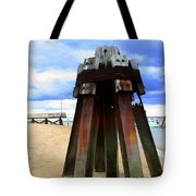 Iron Structure Tote Bag