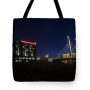 Iron Viaduct Tote Bag