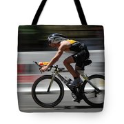 Ironman Need For Speed Tote Bag by Bob Christopher