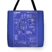 Ironman Patent Tote Bag