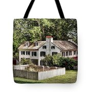 Ironmaster Mansion At Hopewell Furnace  Tote Bag
