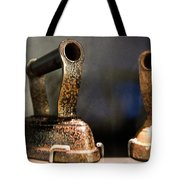 Irons From Early 1900s Australia Tote Bag