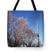 Ironwood And Saguaro Tote Bag