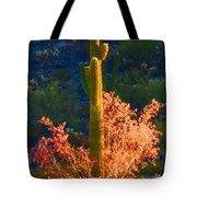 Ironwood Saguaro Dance - Bold Tote Bag