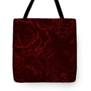 Irridescent Red Tote Bag