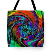 Irritations Converging Into A  Swirl Catus 1 No. 1 H A Tote Bag