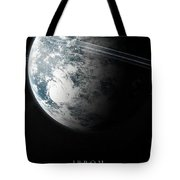 Irrom Space Planets Moons Stars 100200 3840x1200 Tote Bag