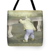 Is Bunny Under The Bench? Tote Bag