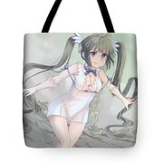 Is It Wrong To Try To Pick Up Girls In A Dungeon? Tote Bag