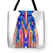Is That A Head Or A Hat ??  Alien Fineart Graphic Whimsical Rohrshoc Abstract By Navinjoshi Tote Bag