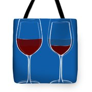 Is The Glass Half Empty Or Half Full Tote Bag by Frank Tschakert
