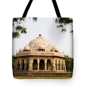 Isa Khan Tomb Burial Sites Tote Bag