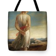 Isaac Going Forth To Meditate Tote Bag