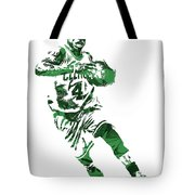 Isaiah Thomas Boston Celtics Pixel Art 5 Tote Bag