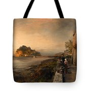 Ischia With A View Of Castello Aragonese Tote Bag