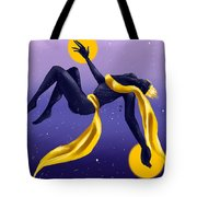 Ishtar Embraced By The Void Tote Bag
