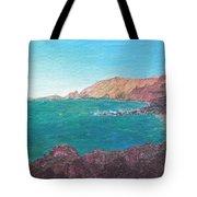 Isla D' El Hierro Tote Bag