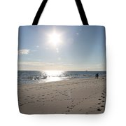 Island Beachwalkers Tote Bag