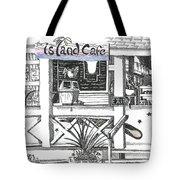 Island Cafe Tote Bag