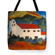 Island Church Tote Bag