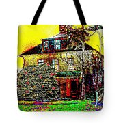 Island Cottage Tote Bag