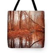Island Creek Story Tote Bag