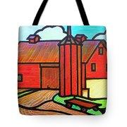Island Ford Barn 2 Tote Bag