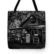 Island Grove Service Station Tote Bag