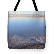 Island In The Desert 3 Tote Bag