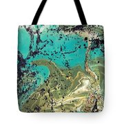 Island Lagoon Tote Bag