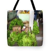 Island Market Tote Bag