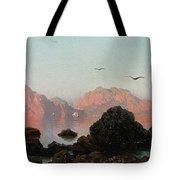 Island Of Capri Tote Bag