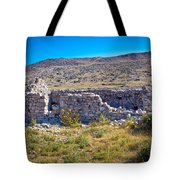 Island Of Krk Old Stone Ruins Tote Bag