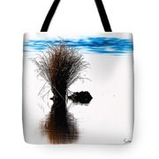 Island Of Reflection Tote Bag