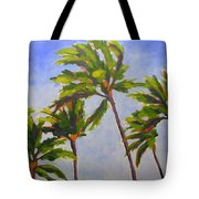 Island Palms Tote Bag