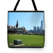 Island Park Elise Museaum Of American Immigration Journey Trip To Newyork Travel Zone America Photog Tote Bag