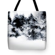 Island Park Idaho - Beyond The Gate Tote Bag