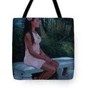 Island Princess Tote Bag
