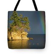 Island Rainbow Tote Bag