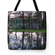 Island Reflections Tote Bag