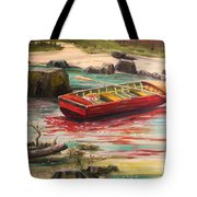 Island Shade Tote Bag