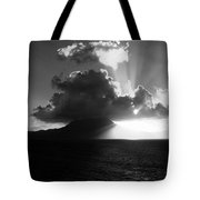 Island Sunrise 2  Tote Bag