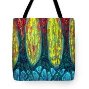 Island Three Trees Tote Bag