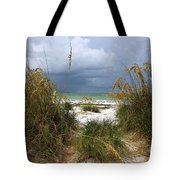 Island Trail Out To The Beach Tote Bag