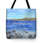 Islands And Surf Tote Bag