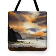 Islands Autumn Sky Tote Bag