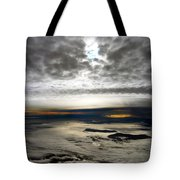 Islands In The Clouds Tote Bag