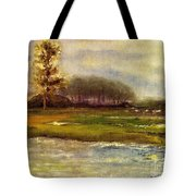 Islands On The River Tote Bag