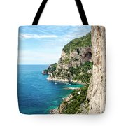Isle Of Capri Tote Bag